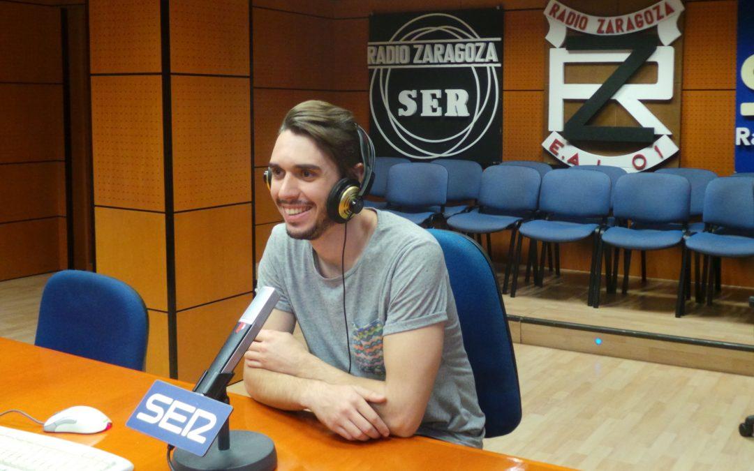 El egresado Nicolás Bonet dirige Carrusel Deportivo en Cadena SER-Aragón