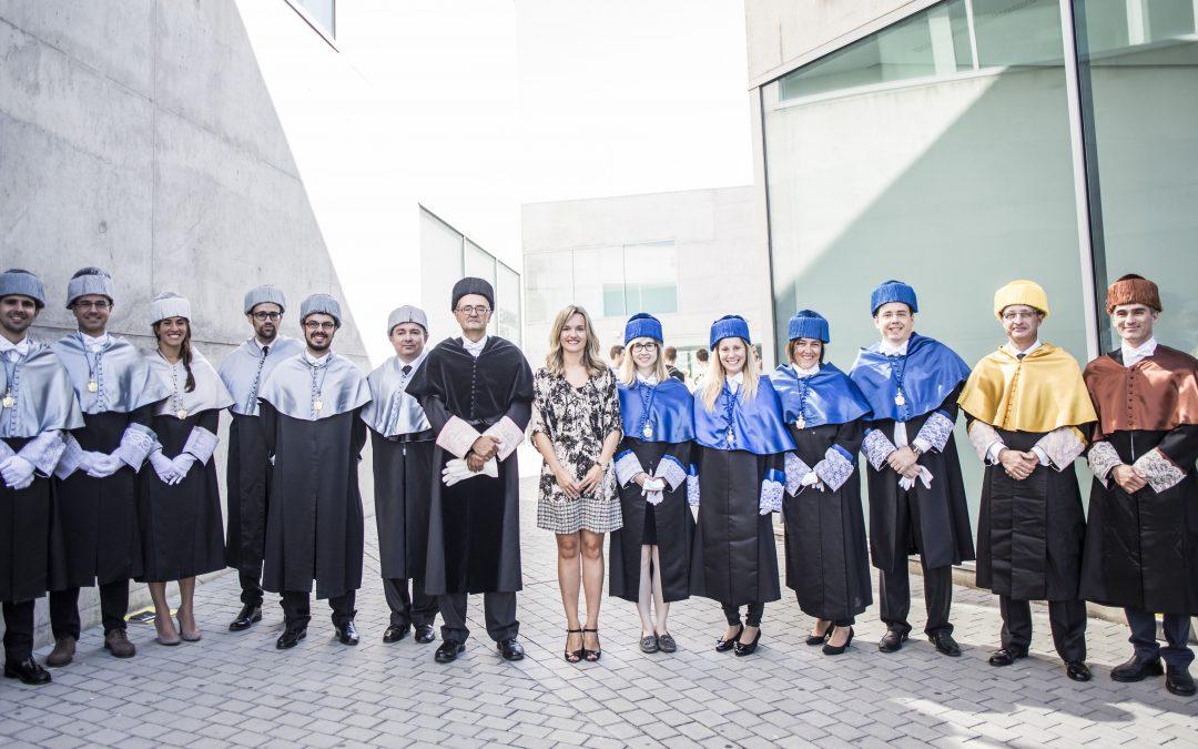 La Universidad San Jorge celebra su acto oficial de Apertura con la investidura de nuevos doctores