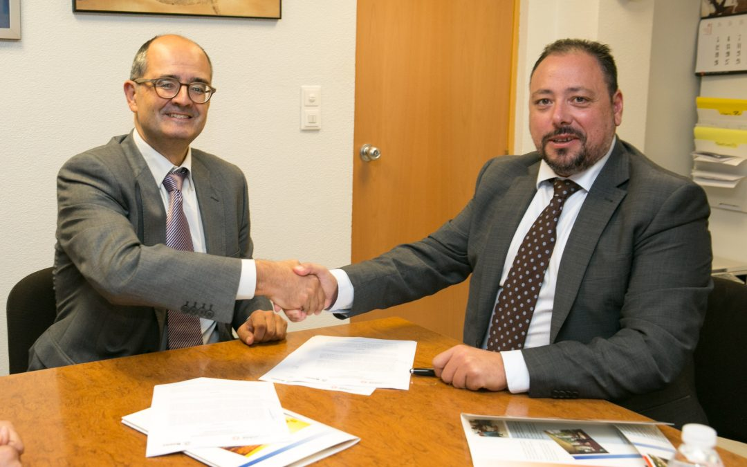 La USJ firma un convenio con el Colegio Británico