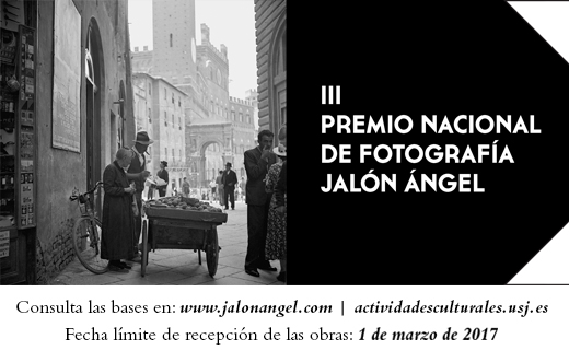Abierto el plazo para participar en la III Edición del Premio de Fotografía Jalón Ángel