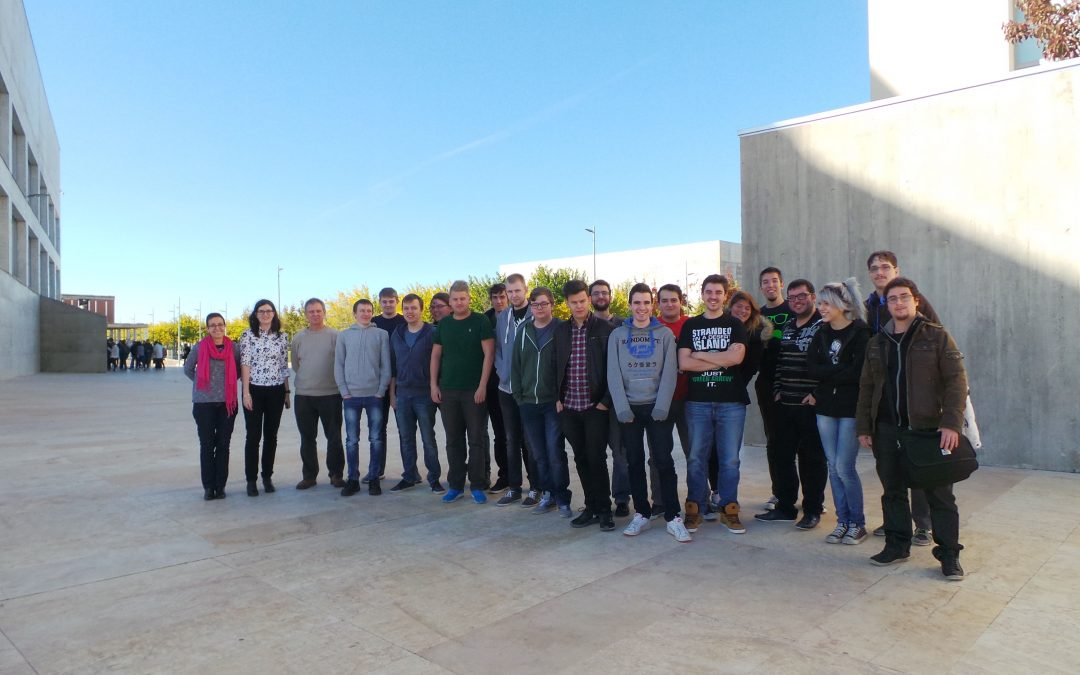 La Escuela de Arquitectura y Tecnología de la USJ recibe a alumnos daneses dentro de un programa de movilidad