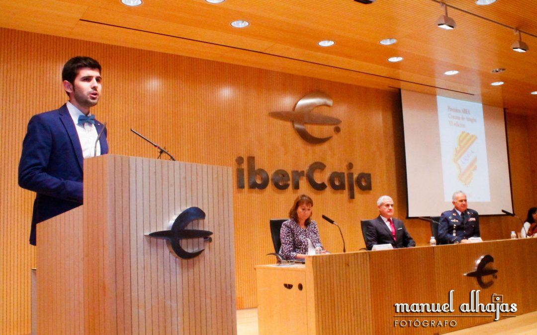 José María Albalad recibe el premio Corona de Aragón