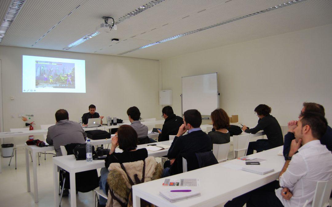 """Manuel Saga imparte la conferencia """"Arquitectura en el videojuego: Referentes para el diseño de espacios digitales"""""""