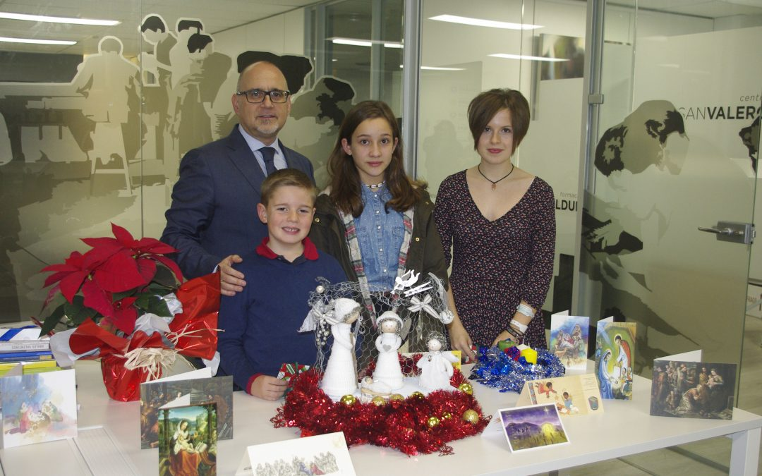 "Entrega de premios ""VIII Concurso de tarjetas navideñas del Grupo San Valero"""