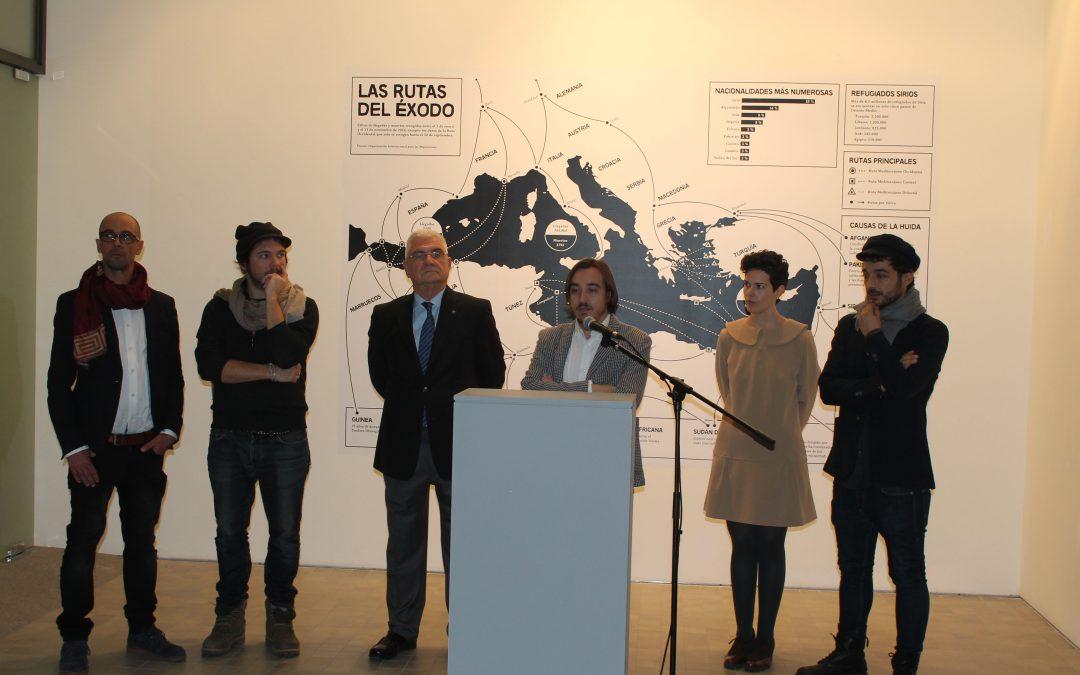 """Inaugurada la """"Exposición Mare Nostrum. Guerra y éxodo Mediterráneo"""""""