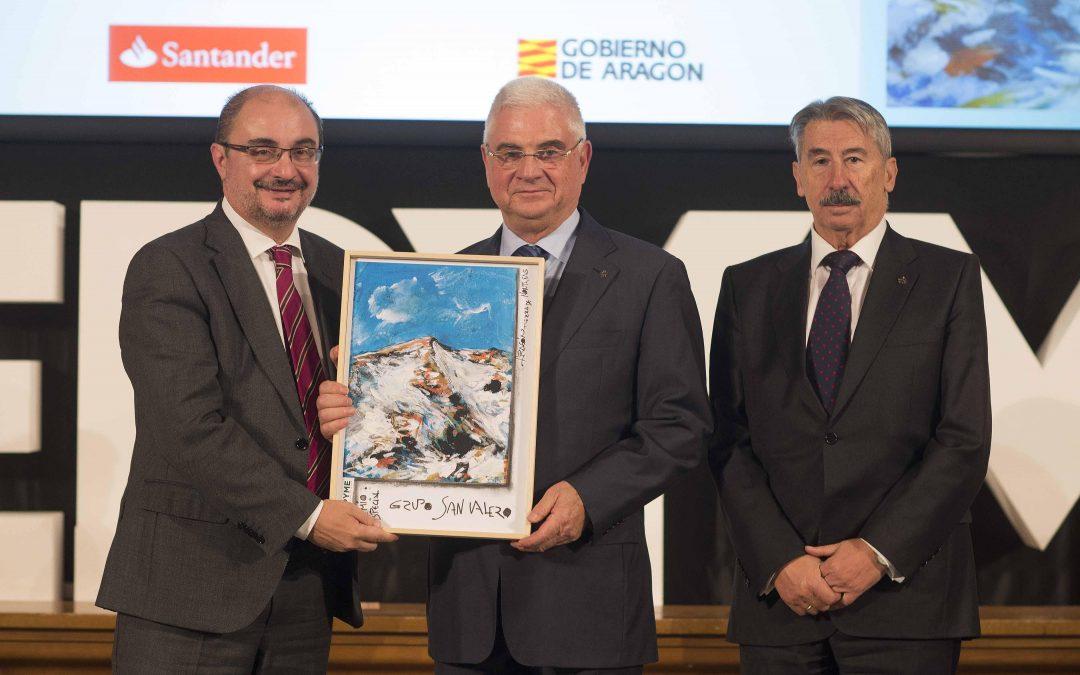 Grupo San Valero recibe el premio especial Cepyme Aragón 2016