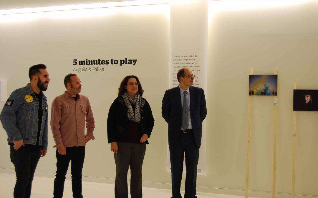 """Espacio en Blanco inaugura la exposición """"5 Minutes to Play"""""""