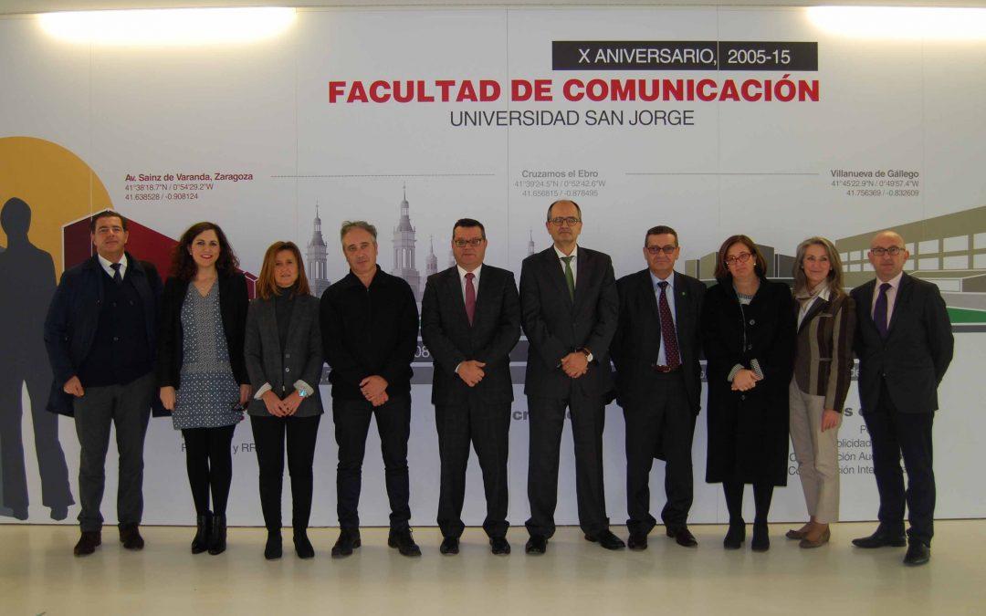 La Universidad San Jorge y la Fundación ONCE colaboran por la inclusión social de personas discapacitadas