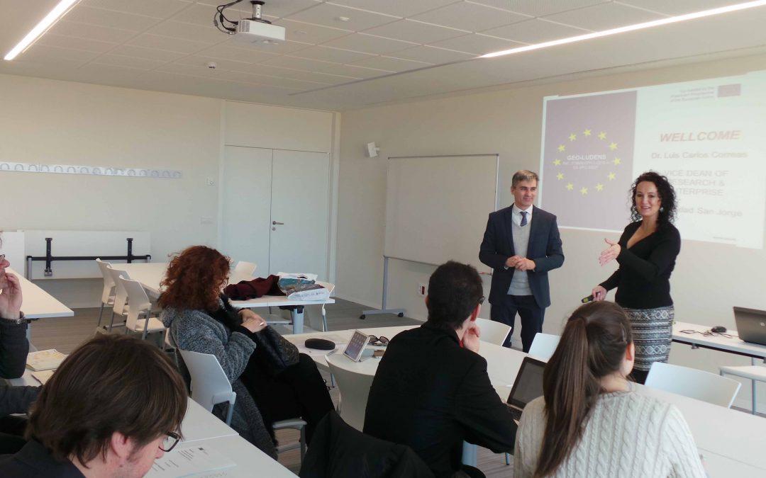 Comienza el proyecto Geo_Ludens coordinado por la Universidad San Jorge