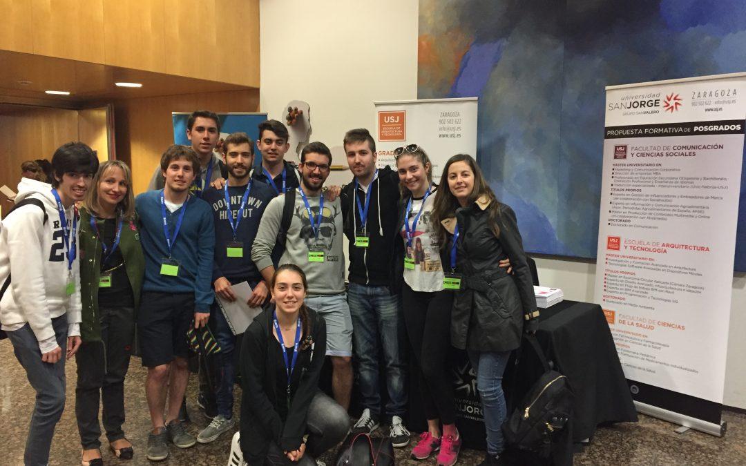 Alumnos de Educación asisten al Congreso Internacional de Inteligencia Emocional y Bienestar