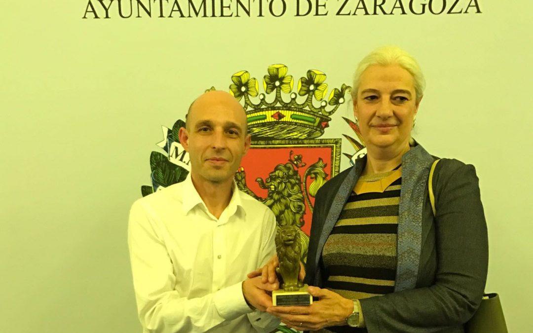 Belén Gómez, profesora de Arquitectura, recibe un accésit en los Premios 3 de abril