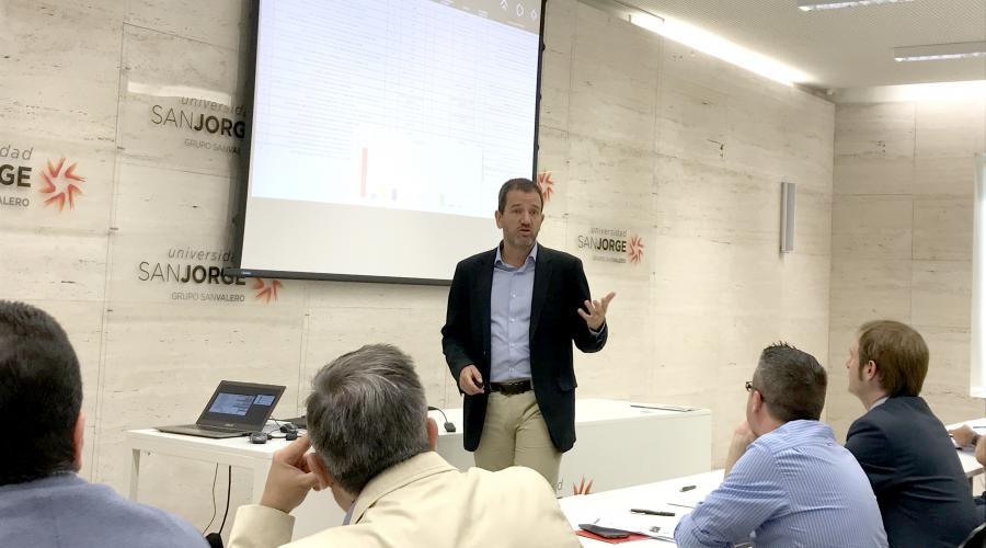 Improva presenta Synapcor en la Universidad San Jorge