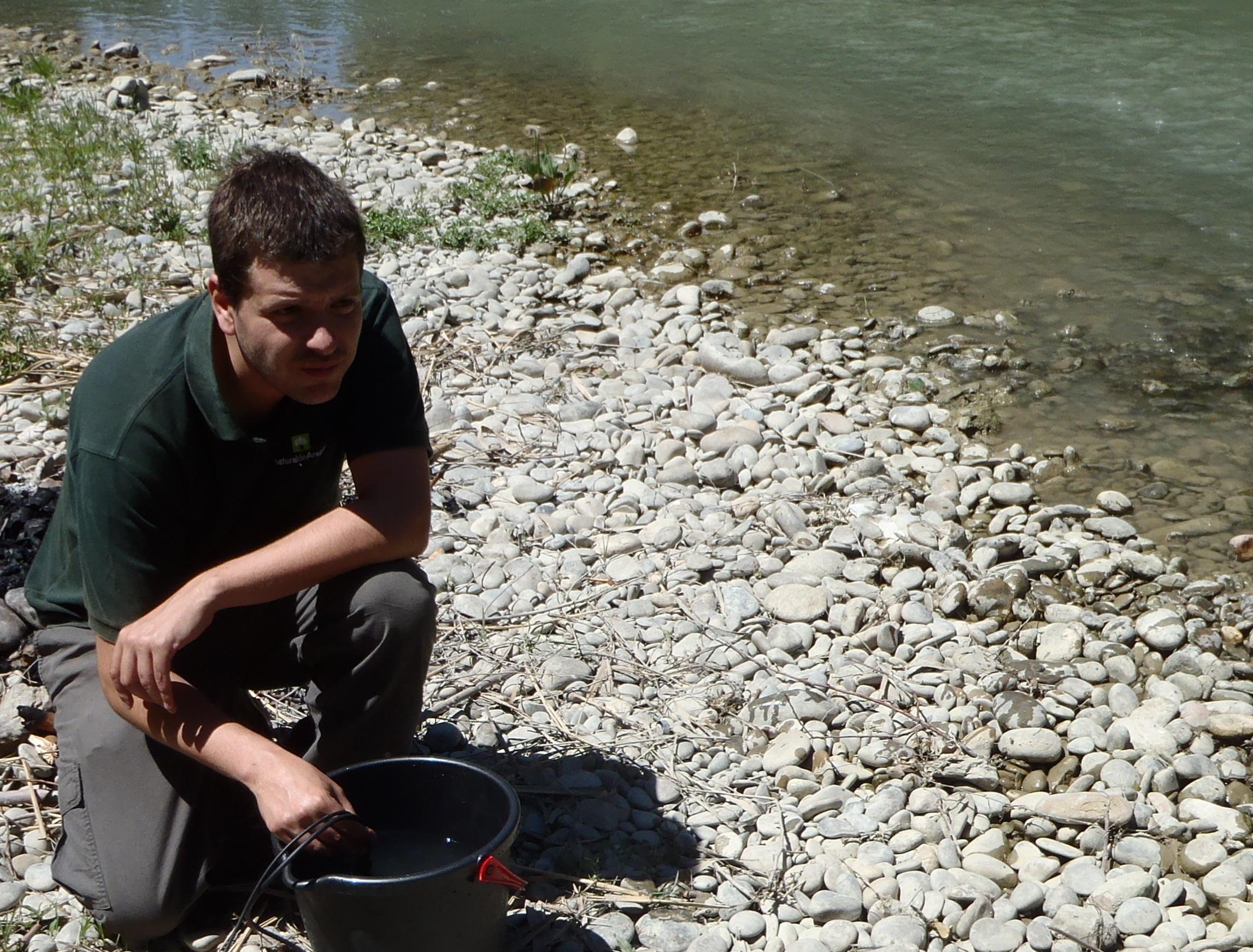 La Universidad San Jorge crea una nueva metodología para conocer la evolución de las temperaturas en los ríos