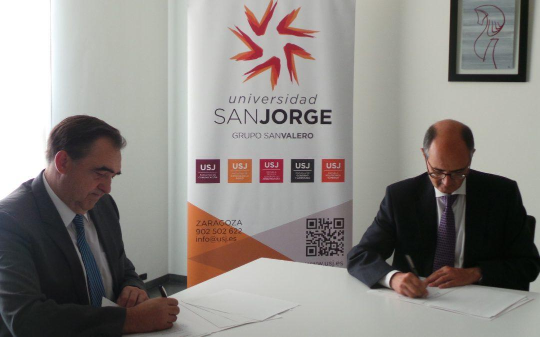 La Universidad San Jorge y Novaltia renuevan por cuarta vez la continuidad de la cátedra firmada conjuntamente