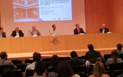 """Zaragoza acoge el """"IX Taller Internacional de Paisaje"""", organizado por la Universidad San Jorge y el Colegio Oficial de Arquitectos de Aragón"""