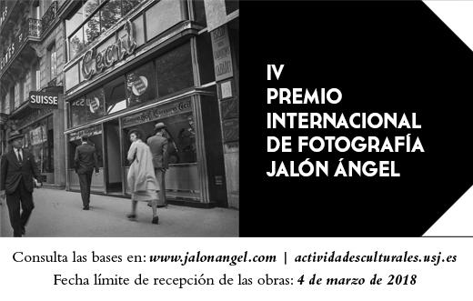 La IV edición del Premio Internacional de Fotografía Jalón Ángel ya está abierta