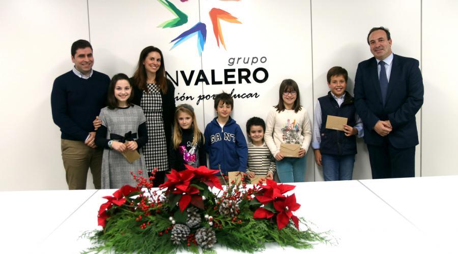 Entrega de premios del IX Concurso de tarjetas navideñas del Grupo San Valero