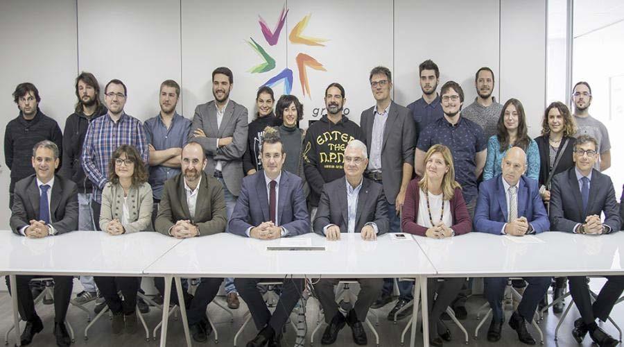 El Grupo San Valero y la Fundación Caja Inmaculada abren una nueva edición del 'Vivero de emprendedores'