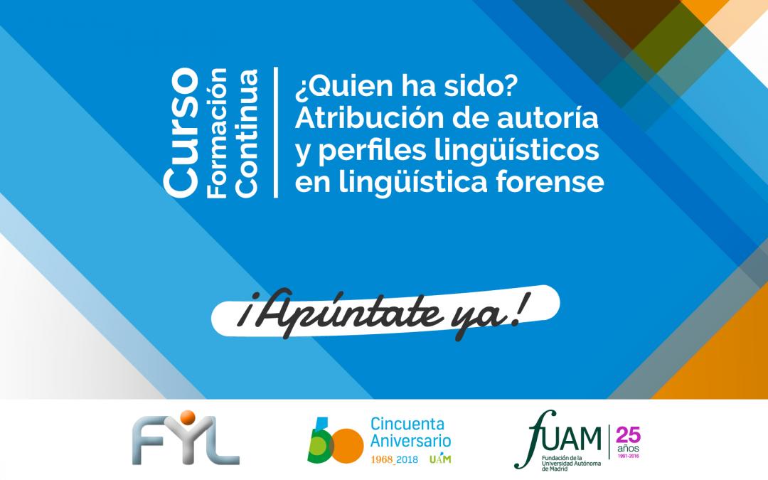 Sheila Queralt, docente del Máster en Traducción Especializada, imparte un curso sobre Lingüística Forense