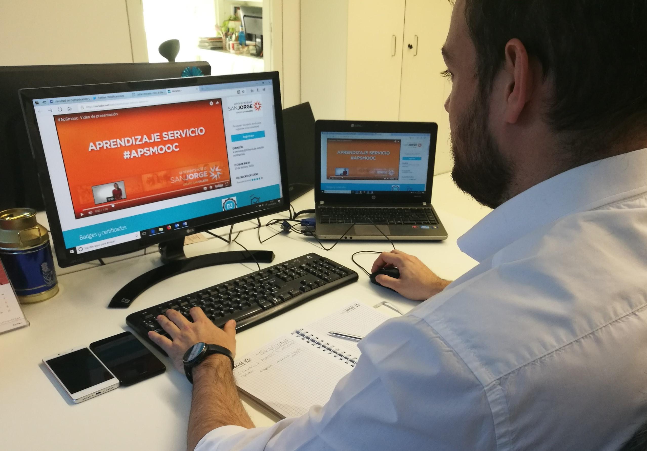 La Universidad San Jorge lanza un curso online y abierto sobre Aprendizaje Servicio