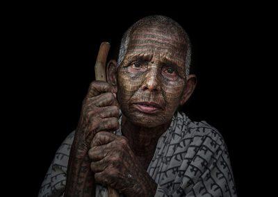 Foto ganadora en la modalidad de Retrato (Debdatta Chakraborty)
