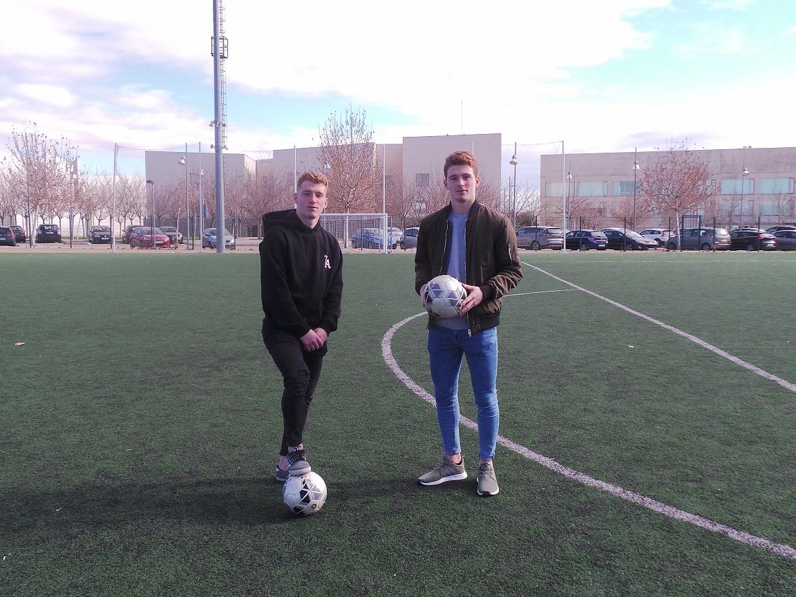 David y Carlos Vicente, deportistas de alto rendimiento y estudiantes universitarios
