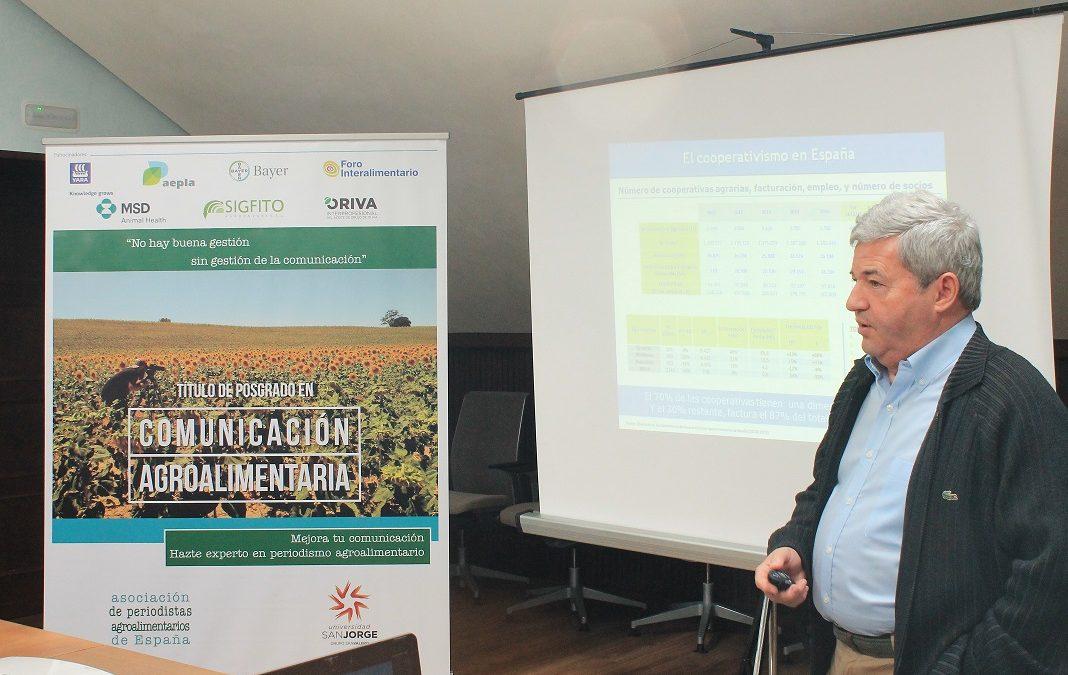 Fernando Burgaz acoge la quinta sesión presencial del Curso de Experto Universitario en Comunicación Agroalimentaria