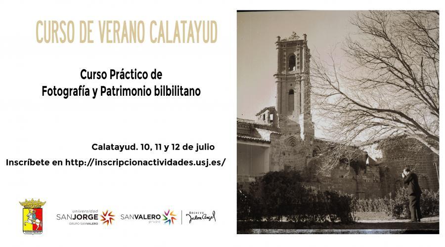 El Archivo Jalón Ángel organiza su primer curso de verano de práctica fotográfica en Calatayud