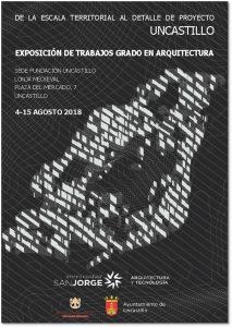 """""""De la escala territorial al detalle del proyecto"""", exposición de trabajos del grado en Arquitectura"""