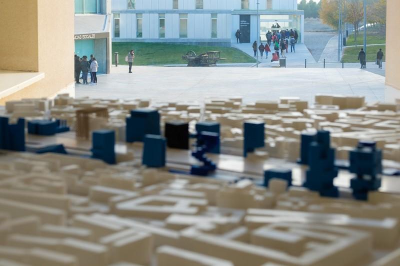 El alumno de Arquitectura de la USJ Fabio Ferrer gana el concurso de Arquitectura Efímera y construirá el expositor del Premio García Mercadal