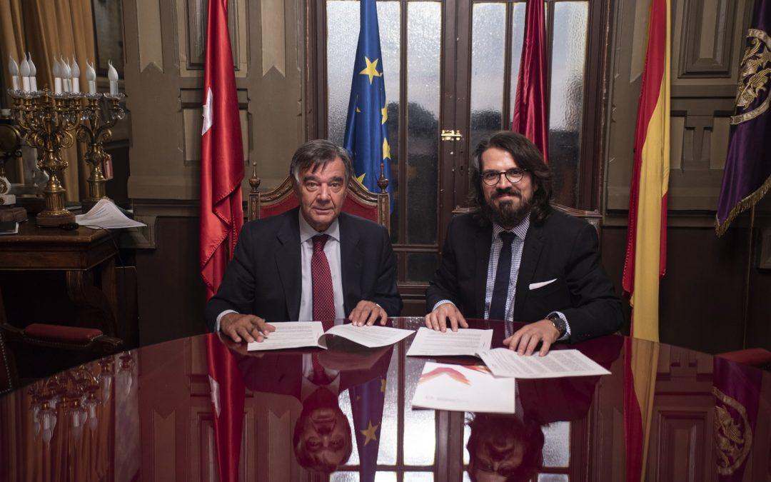 La Universidad San Jorge colaborará en la formación de los farmacéuticos colegiados de Madrid