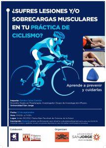 Actividad formativa sobre lesiones y sobrecargas musculares