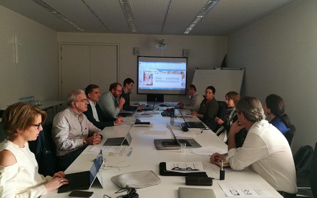 La USJ se reúne con los socios internacionales del proyecto europeo SINO para potenciar la movilidad internacional de los jóvenes
