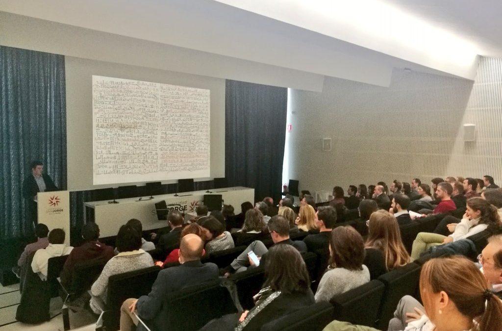 Jornada para presentar las acciones investigadoras de la USJ a los alumnos más destacados