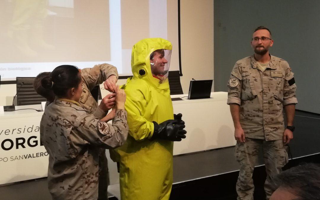 La USJ celebra la segunda Jornada Universitaria sobre Bioterrorismo