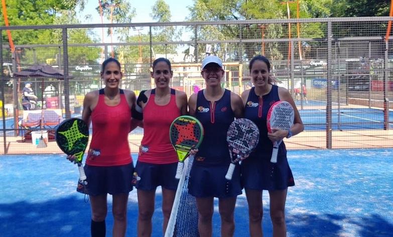 Las gemelas Sánchez Alayeto, estudiantes de la USJ, se proclaman campeonas del mundo de pádel