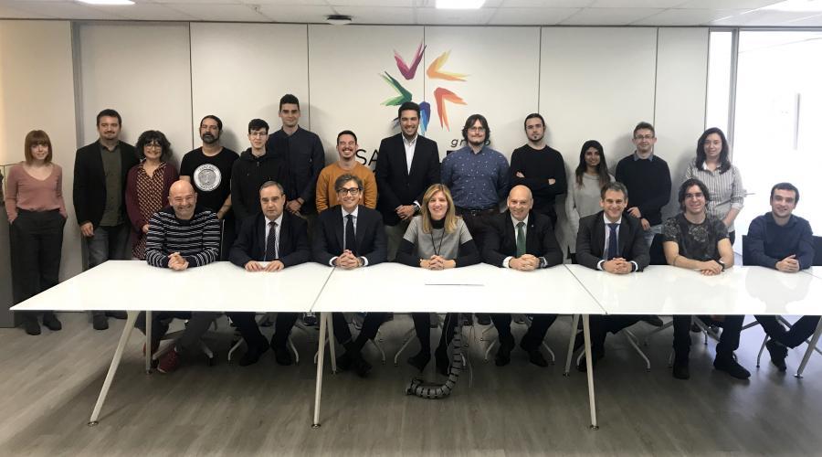 Grupo San Valero y Fundación CAI hacen entrega de las oficinas del Vivero de Emprendedores en su VII edición