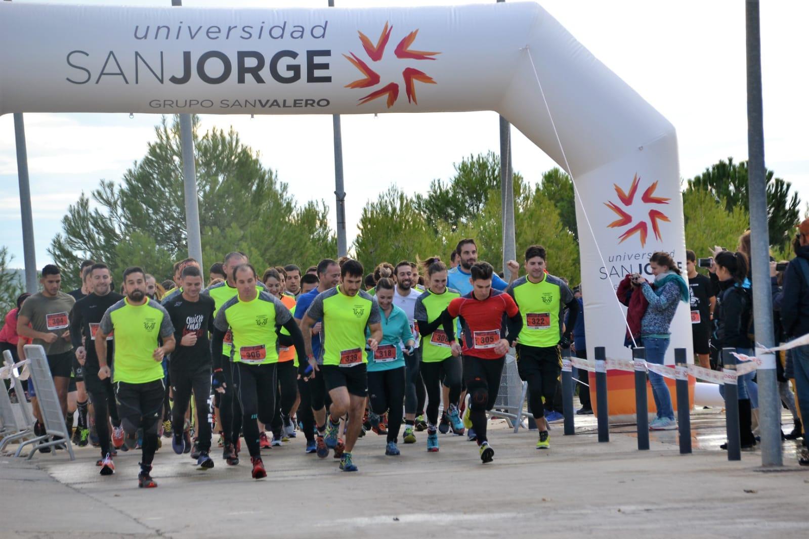 La Gladiator Aragón Universidad San Jorge acoge a 400 participantes