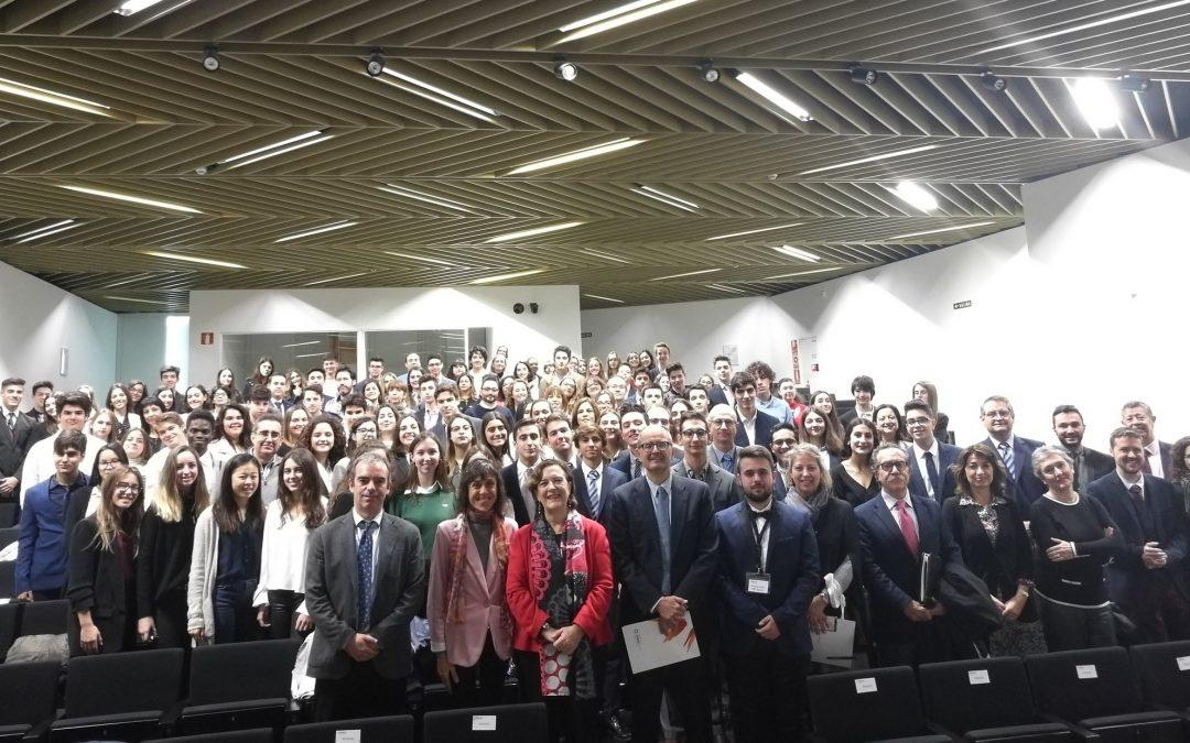 La USJ acoge la Sesión de comisiones y la Asamblea de la Segunda Sesión de Aragón de Modelo del Parlamento Europeo