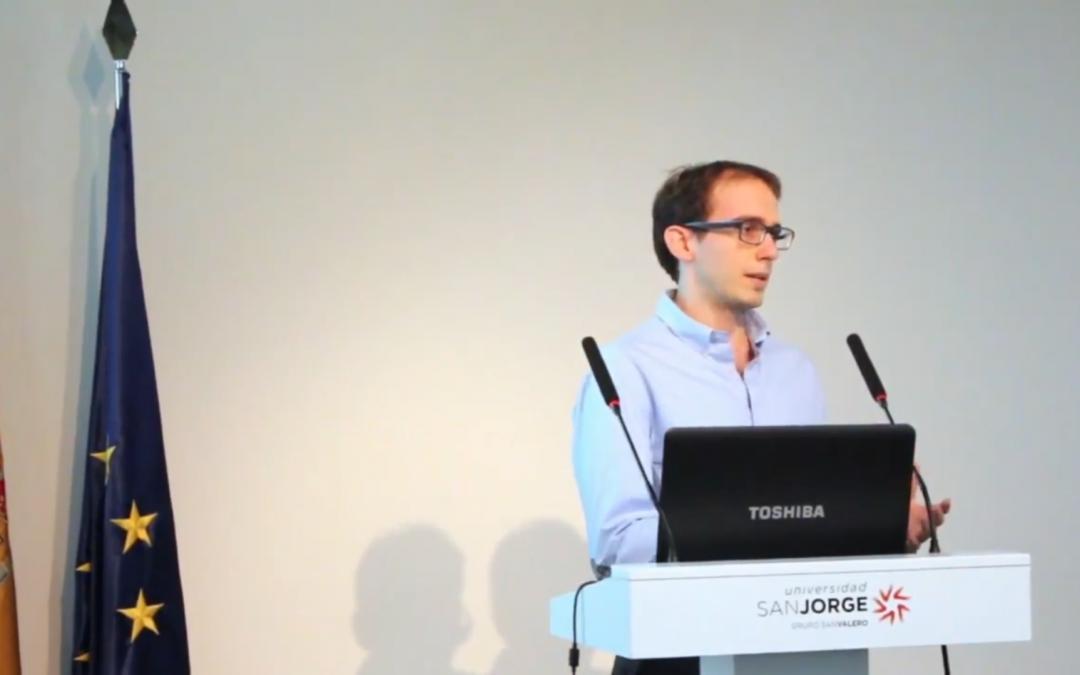 El doctorando Pablo Bellosta consigue una beca del Gobierno de Aragón para la contratación de personal investigador predoctoral en formación durante cuatro años