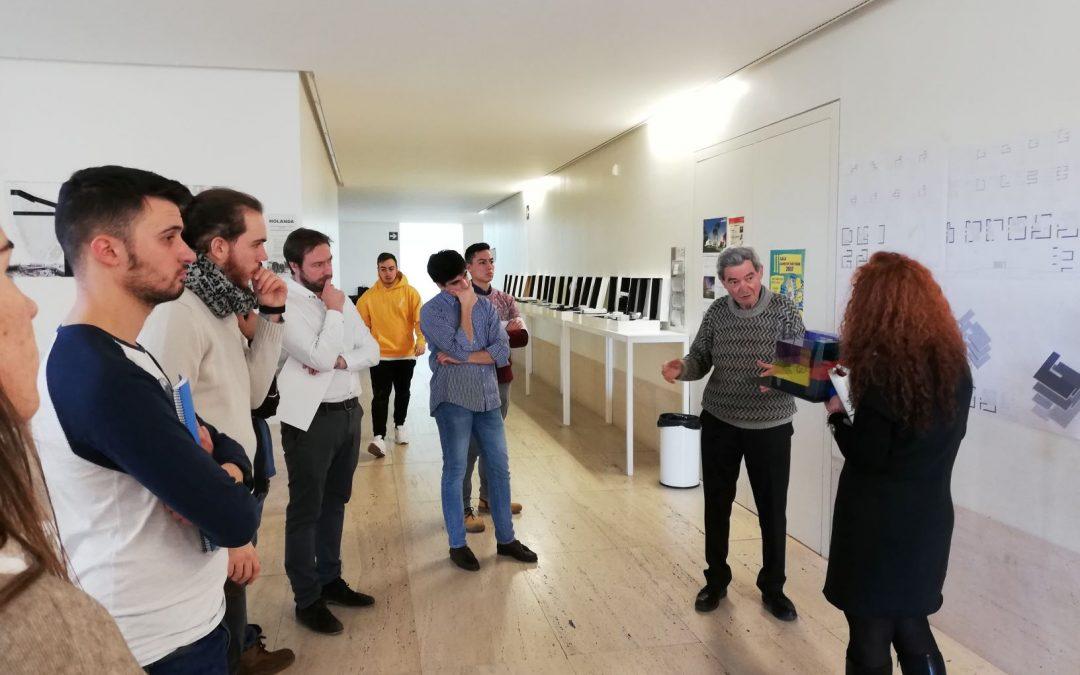 El grado en Arquitectura recibe a José Antonio Martínez Lapeña en el segundo Taller de Proyectos Arquitectónicos del curso