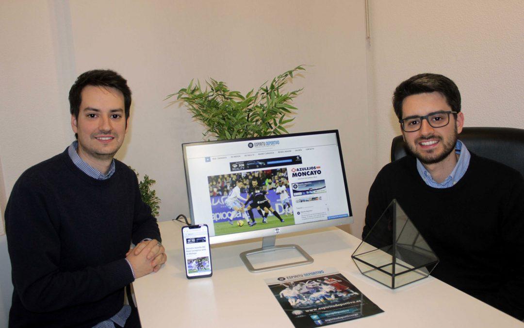 Espíritu deportivo, un ejemplo de emprendimiento en periodismo especializado en el deporte aragonés