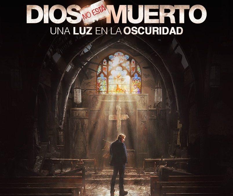 """Pase único y cine-fórum de la película """"Dios no ha muerto. Una luz en la oscuridad"""""""