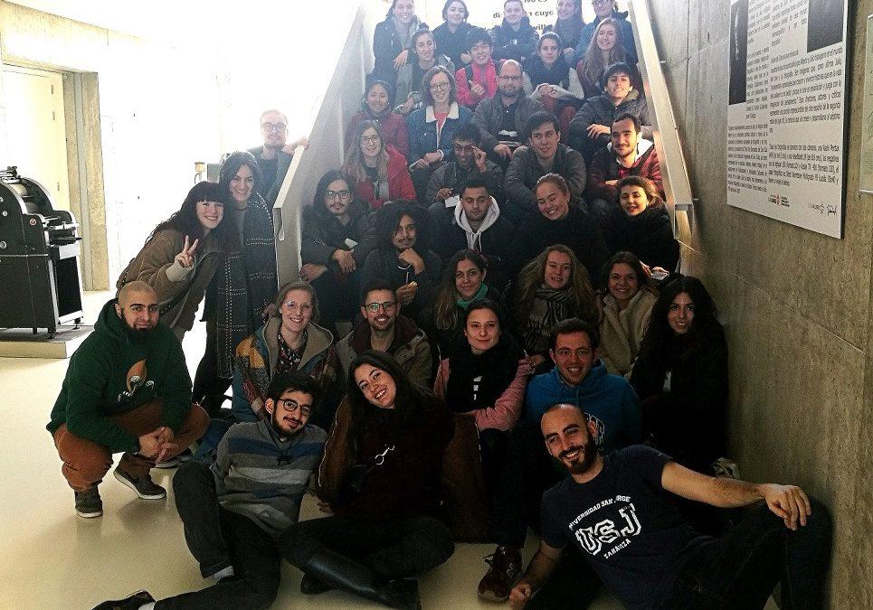 La USJ recibe a 50 alumnos internacionales para el segundo semestre