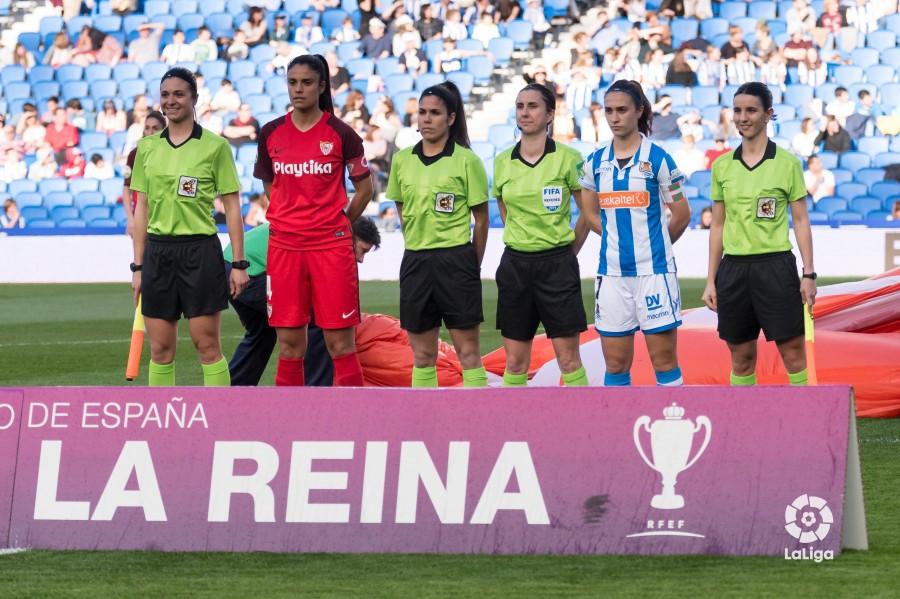 Elena Pardos, profesora de la USJ, designada para arbitrar la semifinal de la Copa de la Reina