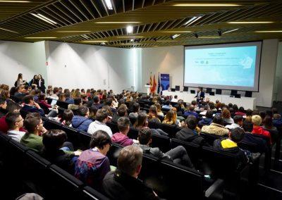 Conferencia de Enric Company en USJ Connecta
