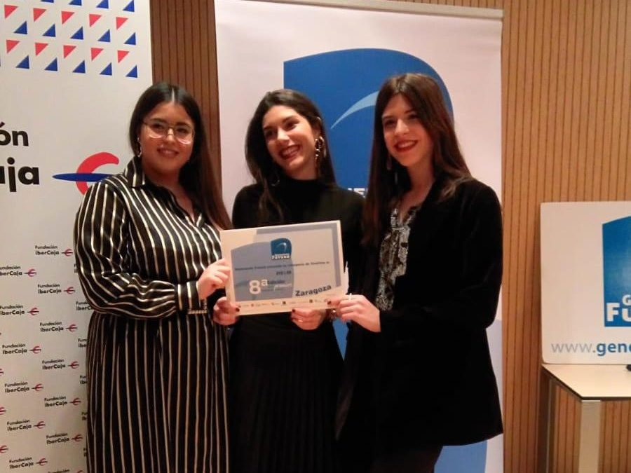 Inés Palacio, Beatriz Murillo y Andrea Pardos, finalistas del concurso Generando Futuro