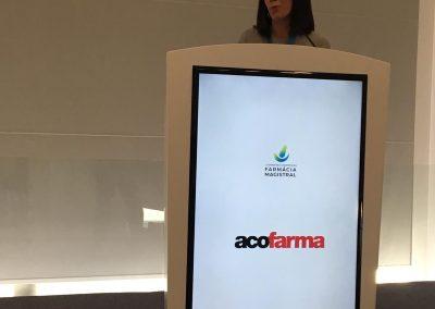 Marta Uriel en las Jornadas Científicas de Farmacia Magistral