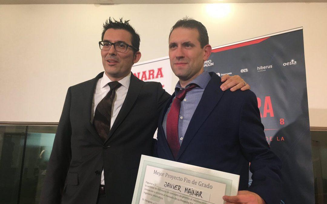 Javier Mainar, egresado de Ingeniería Informática, consigue el Premio al mejor Trabajo Fin de Grado de Ingeniería Informática otorgado por Tecnara
