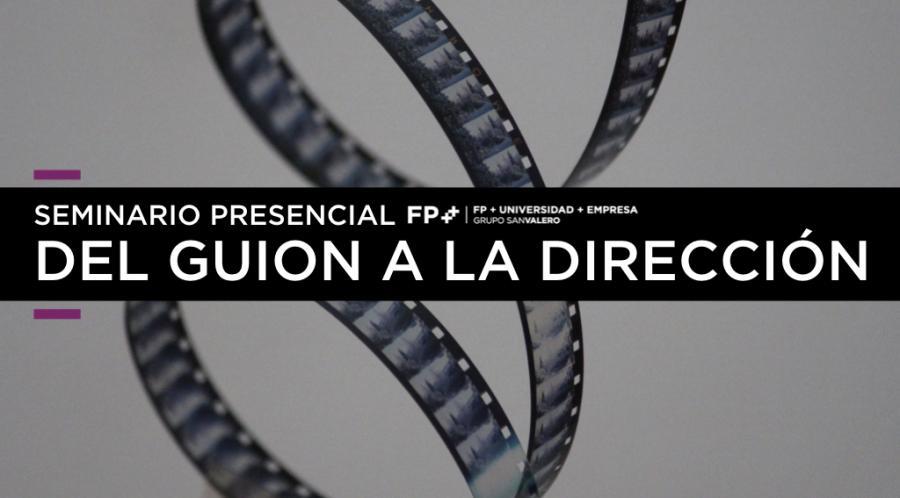 """Seminario en CPA Salduie """"Del guion a la dirección"""", con Lamata y Gabi Ochoa"""
